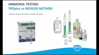 Expert water testing made simple with TNTplus