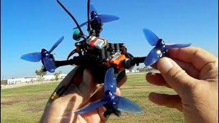 Helifar Fuuton Mini Long Flying Brushless Micro FPV Racer Flight Test Review