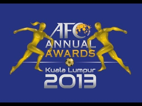 Asian Football Confederation Awards Night 2013
