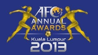 Asian Football Confederation Awards Night 2013