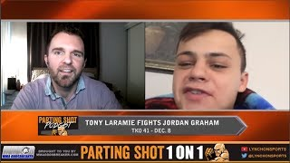 TKO 41's Tony Laramie looks to go out on his shield against Jordan Graham on Dec. 8