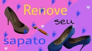 De sapato superfeet inserções azuis