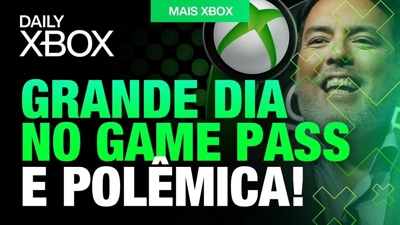 GRANDE DIA para o GAME PASS, FALOU MUITA BESTEIRA SOBRE o XBOX e EXCLUSIVO REVELADO no XBOX ONE!