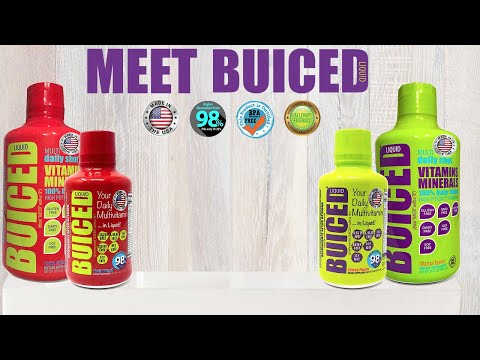 Introduction to Buiced Liquid Multivitamin