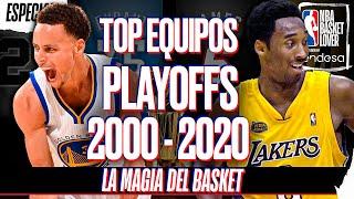 TOP MEJORES EQUIPOS EN PLAYOFFS 2000-2020 con LA MAGIA DEL BASKET   #NBABasketLover