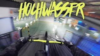 Hochwasser MTB Street mit Enduro in Koblenz - Urban Freeride | Fabio Schäfer Vlog #135