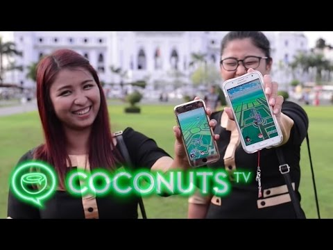 Pokémon Go fever descends on Yangon, Myanmar | Coconuts TV