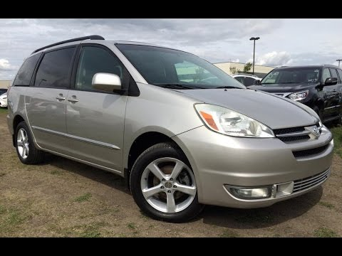 Pre Owned Silver 2004 Toyota Sienna XLE LTD AWD (Natl) In Depth Review Stettler Alberta