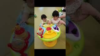 [6개월아기놀이]유진이의 첫 베이비카페 입성기