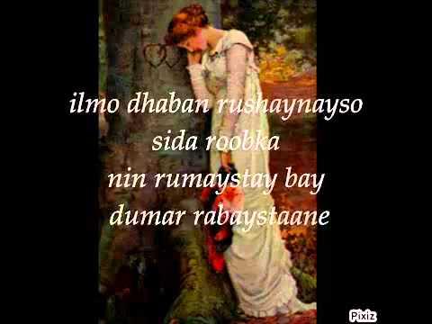 hees cusub u aad u macaan Ha I Raadsan Mursal Muuse New by mrmukhtar007,2012