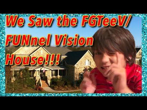 We drove by FGTEEV/FUNnel Vision family house!
