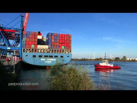 Port of Hamburg - Hafen Hamburg - HHLA Container Terminal Altenwerder
