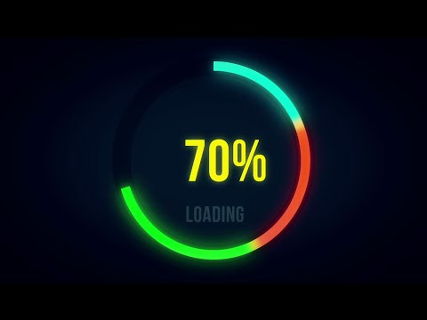 How to make Awesome progress bar in after effects | Tutorial