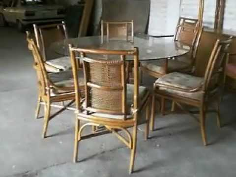 Muebles de rattan youtube for Muebles de jardin ratan pvc