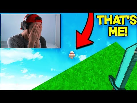 Pretending to be a NOOB to RUIN YOUTUBER'S RECORDING! (Bedwars Trolling)