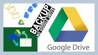 Backup no Google Drive || UP KEY Software