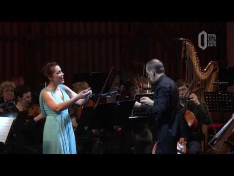 W.A. Mozart. Aria 'Vorrei spiegarvi, oh Dio!' K418
