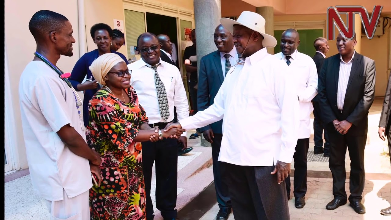 President Museveni visits injured Tanzanian and UN peacekeepers