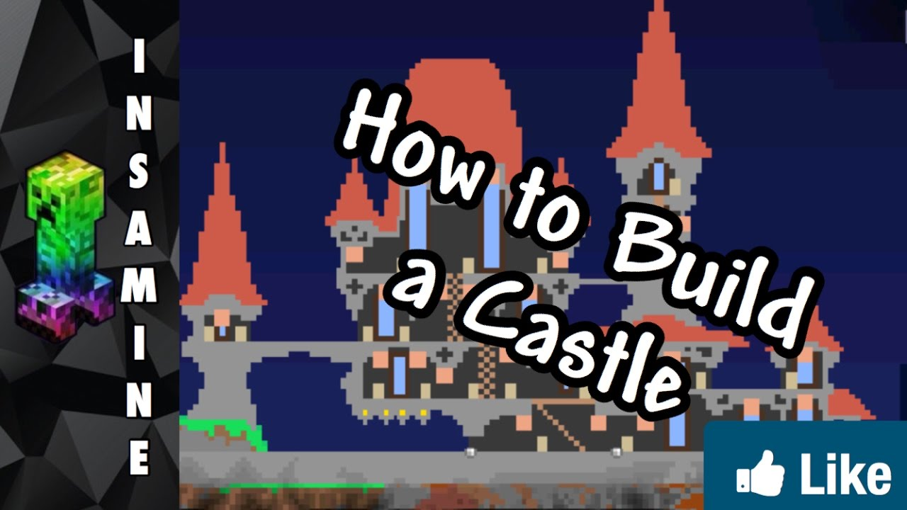 how to build a huge castle in terraria