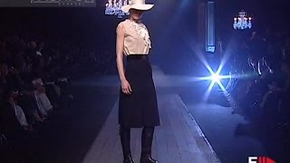 LANVIN Autumn Winter 2004 2005 Full Show Paris by Fashion Channel