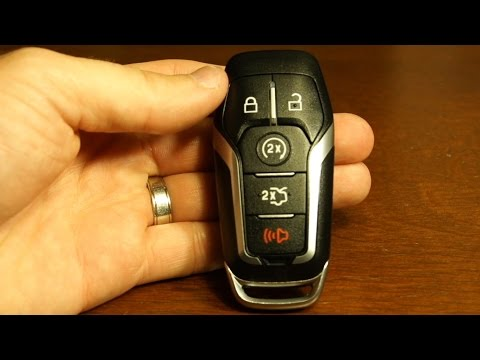2017 Ford Explorer Key Fob Battery Replacement - YT