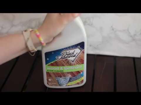 Black Diamond Wood and Laminate Floor Cleaner with PS3 #Review - Black Diamond Wood And Laminate Floor Cleaner With PS3 #Review