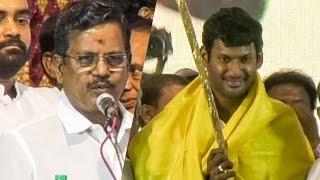 "Thanu Praises Vishal - ""போராட  பிறந்தவன் போர்குணம் மிகுந்தவன்""   TN 71"