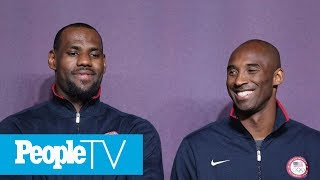 Lakers Star LeBron James Seen In Tears After Learning Of Kobe Bryant's Death | PeopleTV