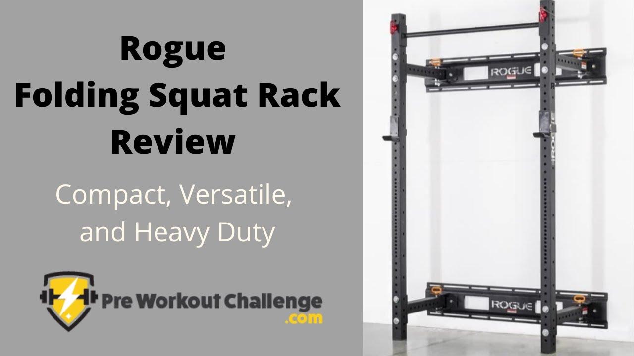 rogue folding squat rack