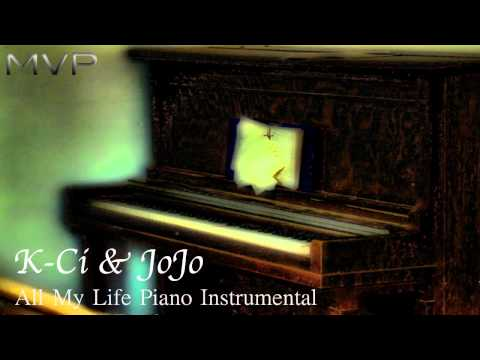 K-Ci & JoJo - All My Life Piano Instrumental + Download