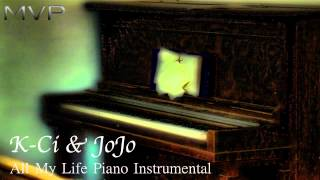 K-Ci & JoJo - All My Life Piano Instrumental + Download