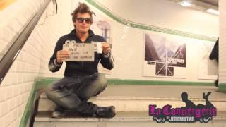 Dorian Rossini fait la manche et les poubelles dans le métro