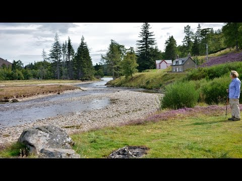 West of Braemar - Inverey and Mar Lodge on the Dee [Aug. 24, 2017]