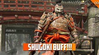 Shugoki Buffs Season 9 - Ubi Talks Balance - No Lawbringer Rework Announced