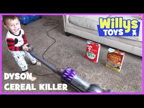Dyson Ball Compact Vacuum DC50 Unboxing CEREAL KILLER EDITION Funny Cute Happy WILLYS TOYS
