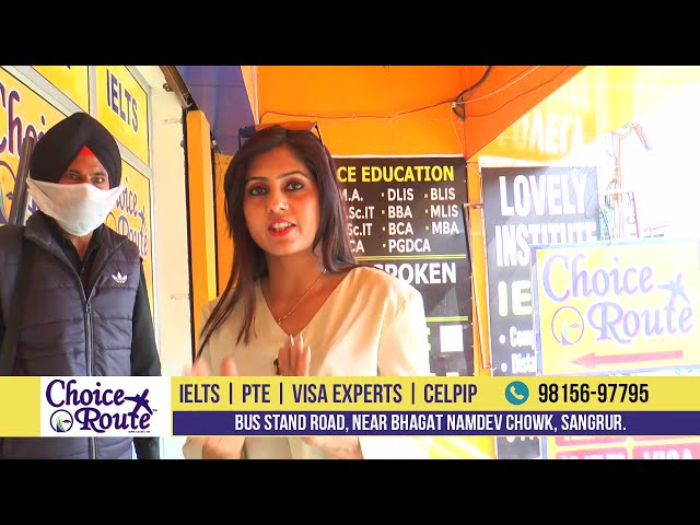 Choice Route best IELTS/PTE/Visa consultants award winning 2021 video