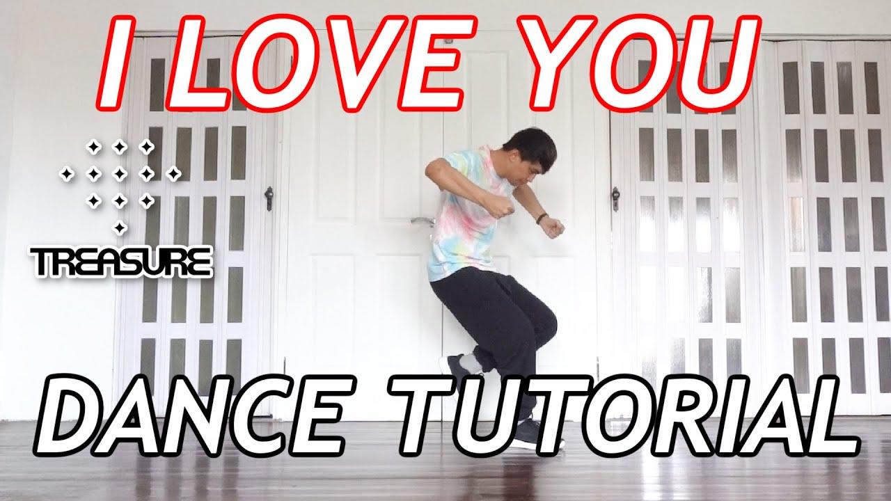 TREASURE 'I LOVE YOU' DANCE TUTORIAL | Step by Step ID