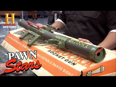Pawn Stars: Rare Bazooka Gun is Not a Toy (Season 9) | History