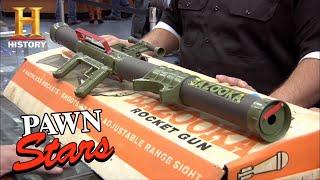 Pawn Stars: Rare Bazooka Gun is Not a Toy (Season 9) | History