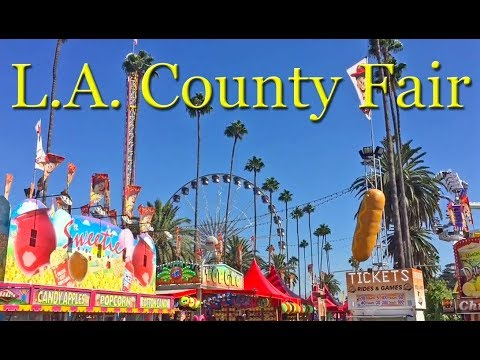 A Day At The L.A. County Fair In Pomona