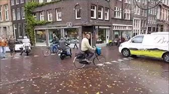 Typisch Amsterdam: So läuft der Straßenverkehr in Hollands Hauptstadt