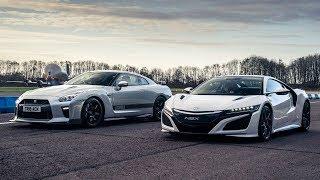 Honda NSX vs Litchfield GT-R | Drag Races | Top Gear