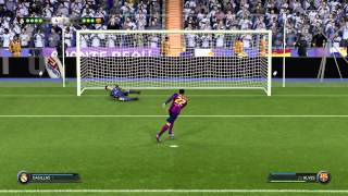 FIFA 15 Real Madrid V.S FC Barcelona Penalty Shoot out PS4)