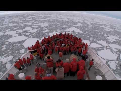 Crossing the Antarctic Circle Aboard National Geographic Explorer