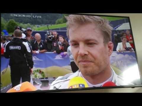 Formel 1/Großer Preis von Österreich/Crash/Gp/Race/Austria/2016/Toto Wolf/Nico Rosberg