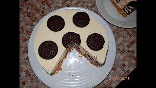 Торт Oreo Без Выпечки / Вкуснейший чизкейк без выпечки Гости Будут В Шоке