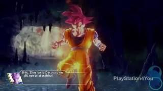 Dragon ball xenoverse - misiÓn #42 poder del dios sÚper saiyan (rango a) playstation 4 gameplay
