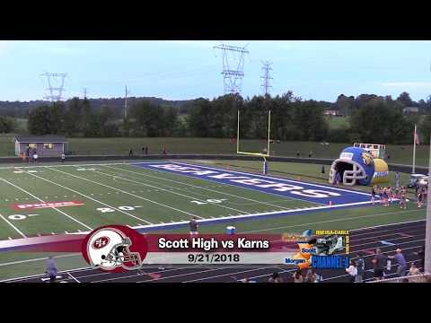 Football - 09/21/2018 Scott High vs. Karns