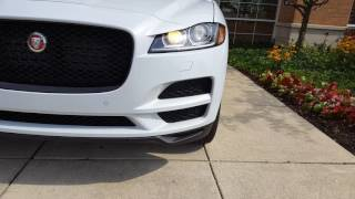 Brand New 2017 Jaguar F-Pace Base Model Start Up and Vehicle Tour