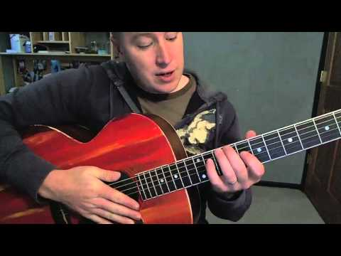 Lovers' Eyes- Guitar Lesson- Mumford & Sons  (Todd Downing)